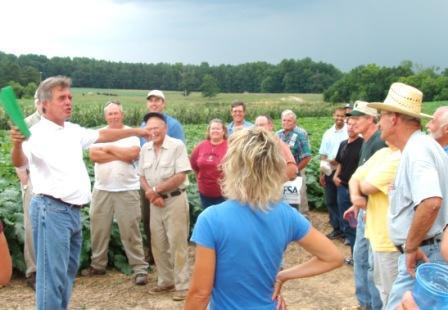 farm tour field speaker